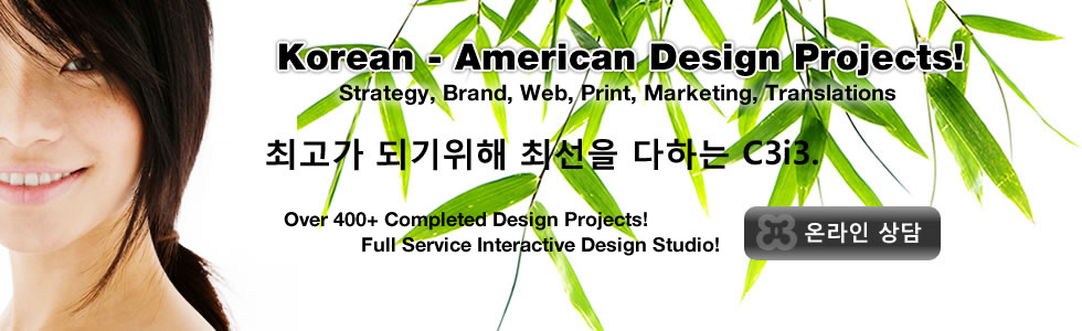 Korean Web Design